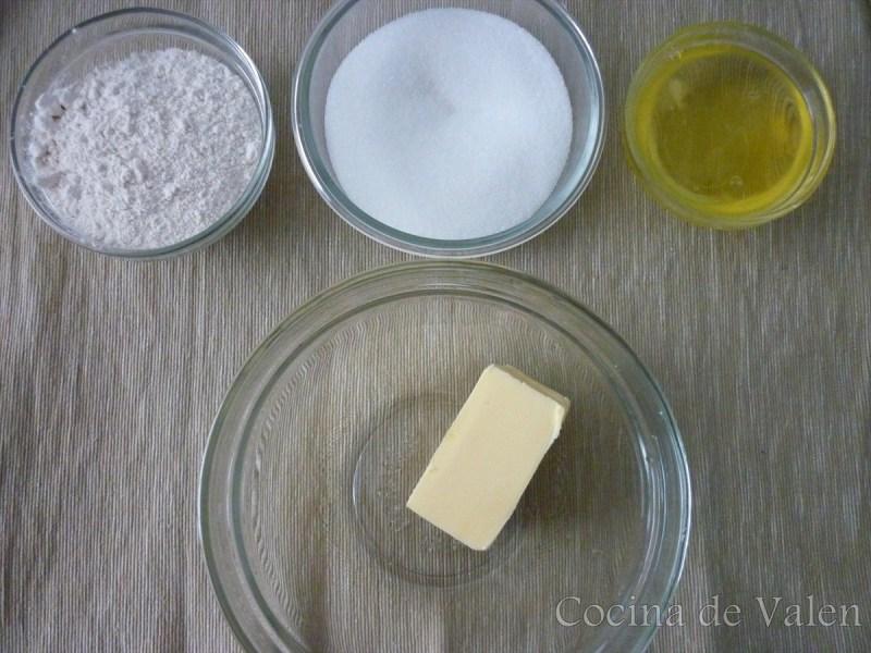 Ingredientes Tejas de Almendras