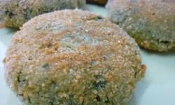 Tortitas de espinacas
