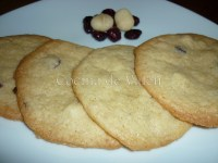Cookies con Arándanos Nueces de Macadamia y Chocolate Blanco - Cocina de Valen