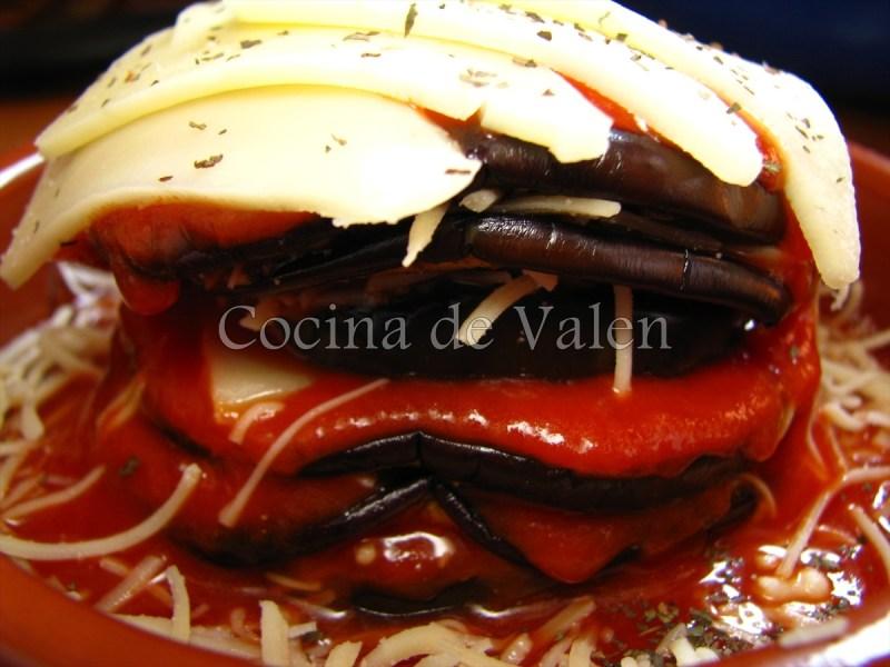 Timbal de Berenjenas - Cocina de Valen