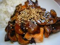 Salmón Teriyaki - Cocina de Valen