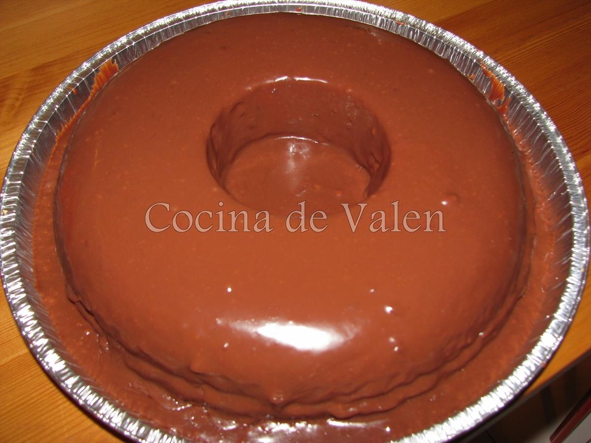 Ponqué de Vainilla relleno de Chocolate - Torta Casino - Cocina de ...