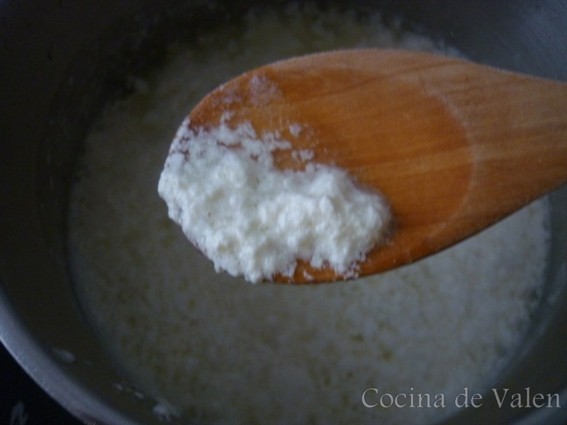Dulce de leche cortada - Cocina de Valen