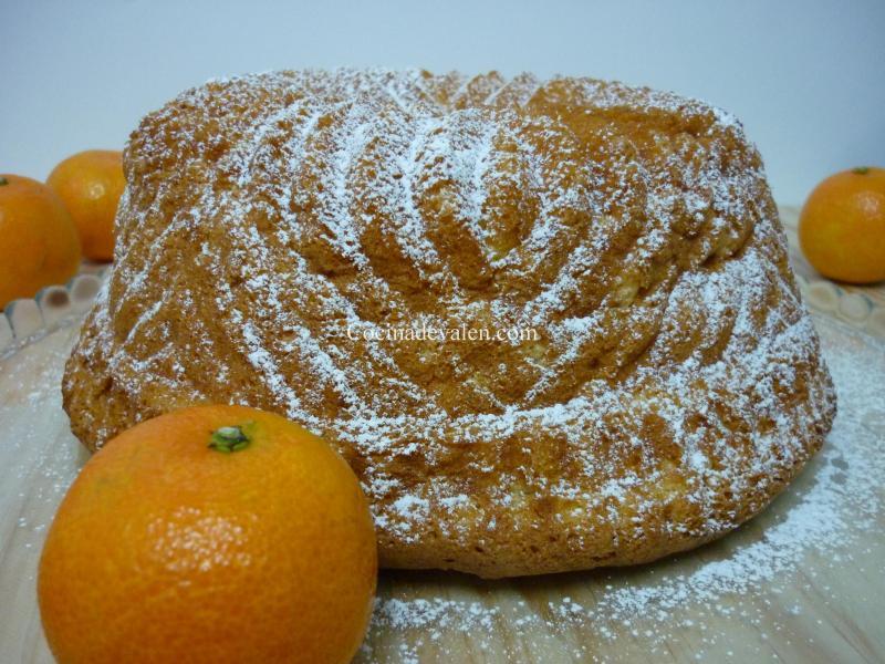 Bizcocho de Mandarinas - Cocina de Valen