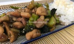 Pollo estilo chino - Cocina de Valen