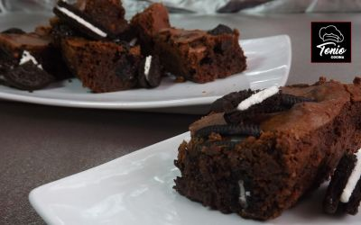Brownies con OREO
