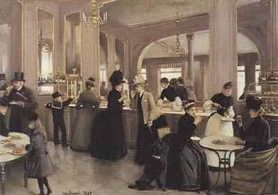 La patisserie de Jean Béraud, oleo. 1889