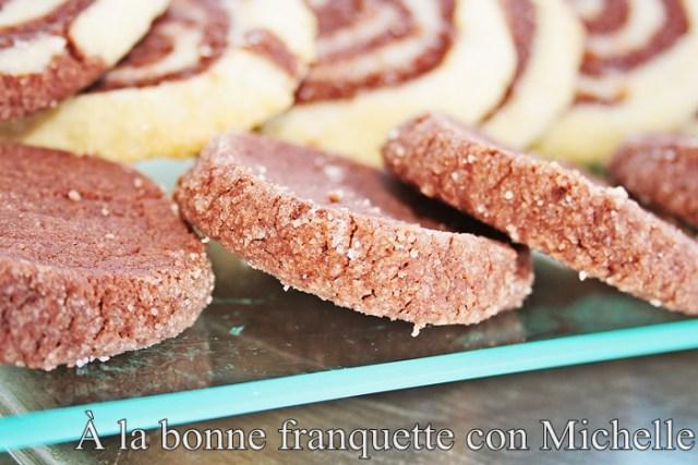 Sablés Tholoniat, sablés cîtron, sablés canelle, tres recetas de galletas de mantequilla