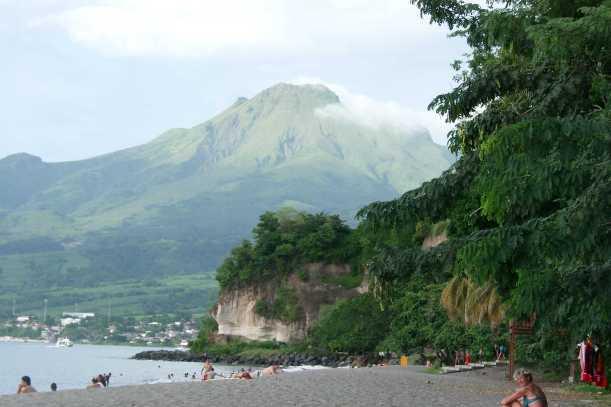 Mont Pelée, imagen de wikipaedia