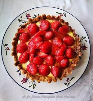 tarta de fresas de Périgord