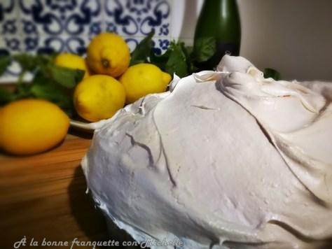 Tarta de limón y merengue al estilo de Menton o Tarte au citron meringuée de Menton