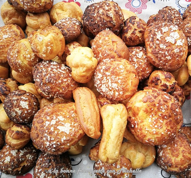 Chouquettes representativo dulce y salado