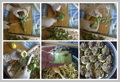 alcachofas con niscalos