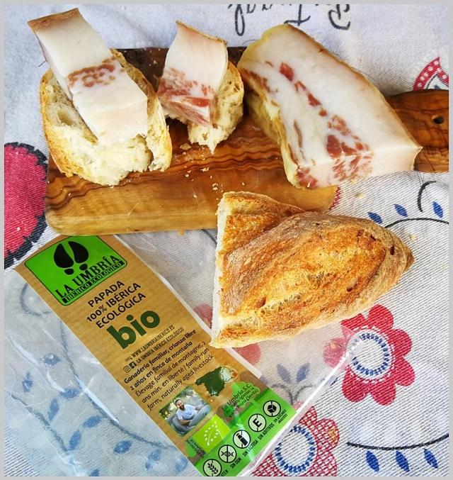 papada de cerdo ibérico de La Umbria