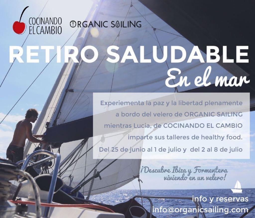 retiro saludable en el mar