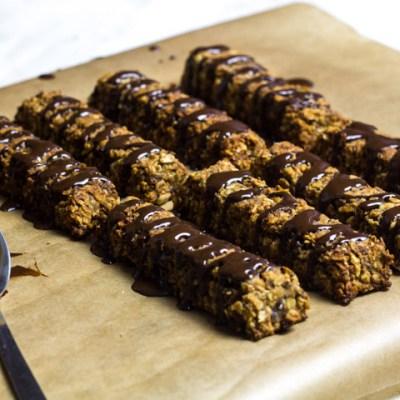 Barritas energéticas con cacao (Chocobar)