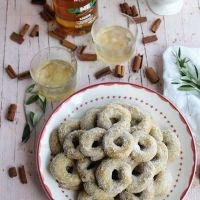 Rosquillos de licor de canela y aceite de oliva virgen extra