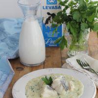 Bacalao en leche, receta de la Cocina de Jaén