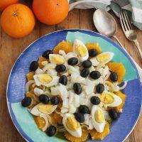 Remojón de naranja y bacalao, receta tradicional de Granada