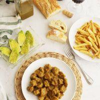 Carne a la suegra, receta típica de Jaén