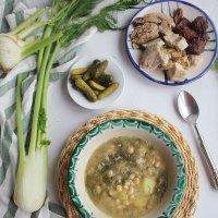Puchero de hinojos, receta tradicional de Granada