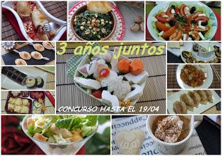Cocina por y para niños, 3 años de blog