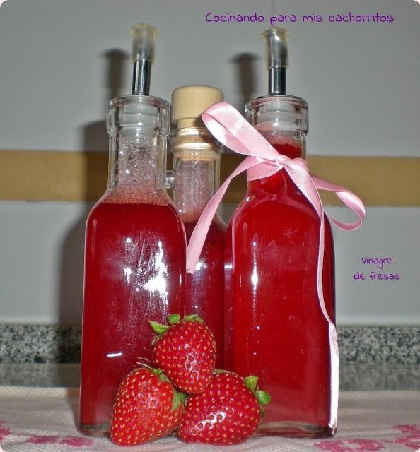 Vinagre de fresas