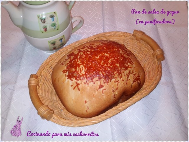 Pan de salsa de yogur