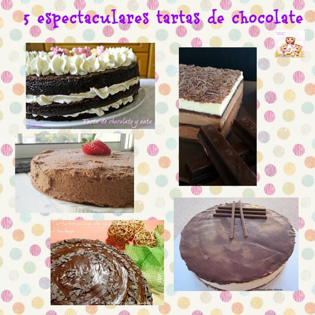 las 5 mejores tartas de chocolate