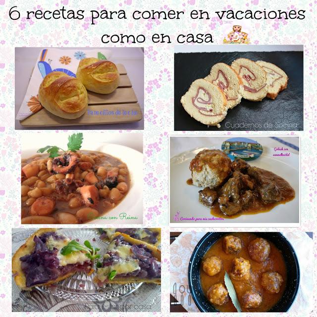 recetas para comer de vacaciones