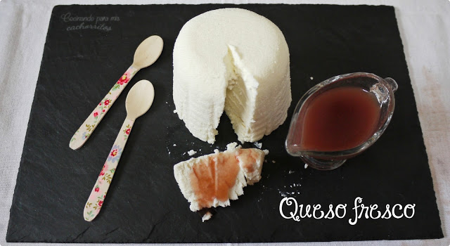 Hacer queso fresco en thermomix