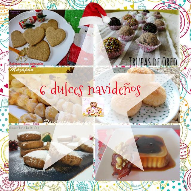 6 recetas de dulces navideños