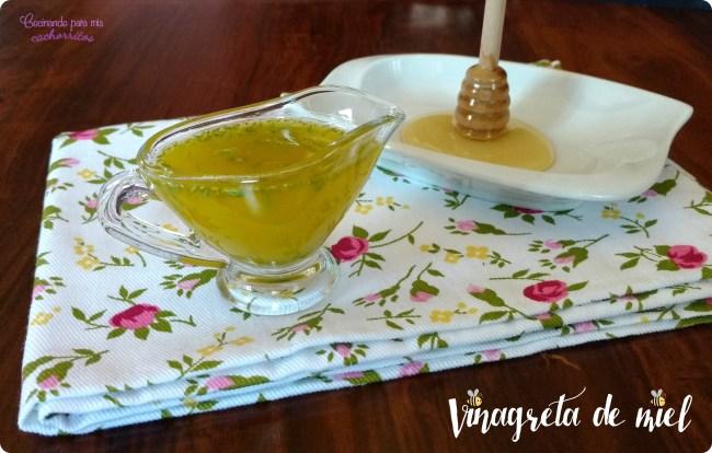 Vinagreta de miel
