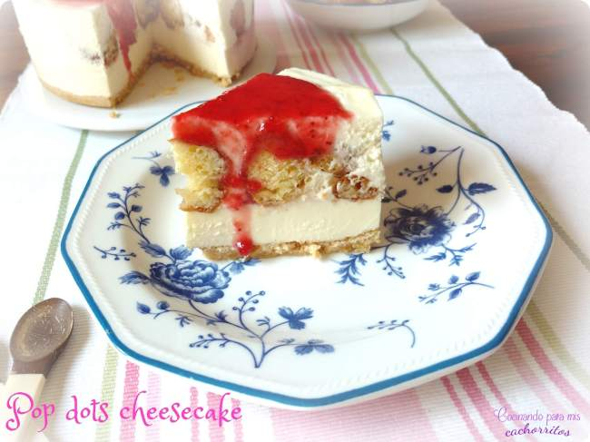 pop dots cheesecake