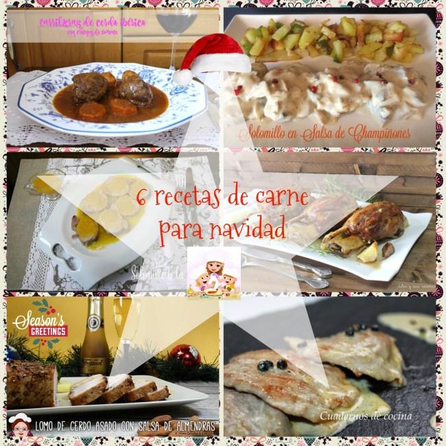 6 recetas de carne para navidad