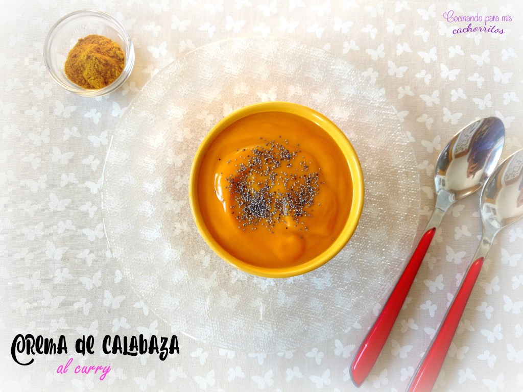 crema de calabaza al curry
