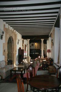 interior del palacio de los duques de medina sidonia