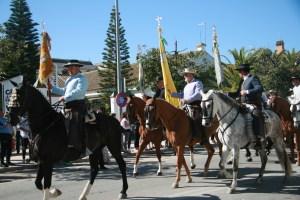 Embarque hermandad de Sanlúcar de Barrameda