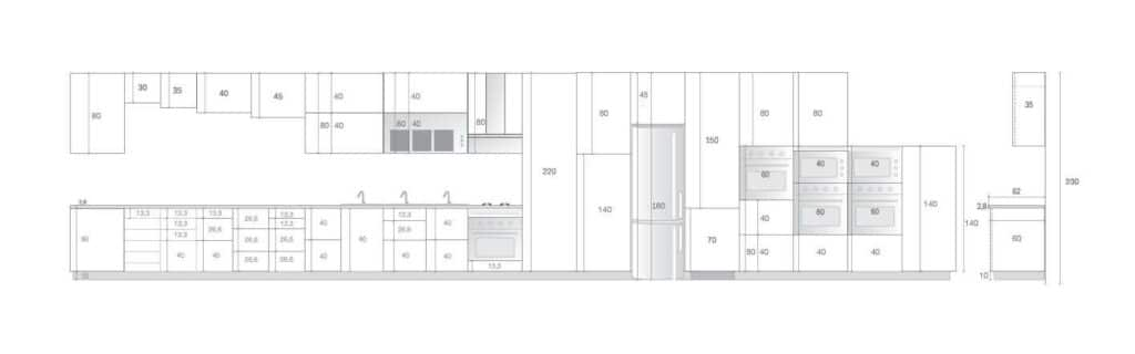 muebles de cocina en kit montados 80