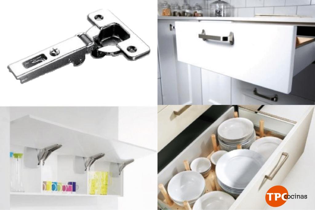 Accesorios para cocinas en las cocinas modernas lo que - Accesorios muebles cocina ...