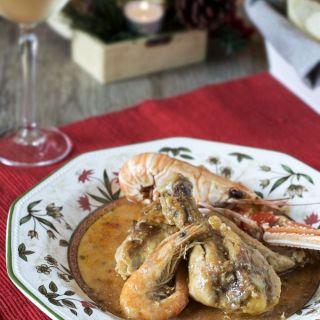 Pollo con cigalas, sabor de mar y montaña
