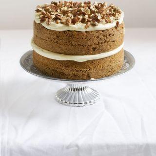 Carrot cake, tarta de zanahoria super esponjosa