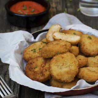 Nuggets de pollo caseros y super crujientes