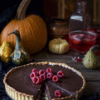 """Cheesecake de chocolate y frambuesa """"muerte por chocolate"""""""