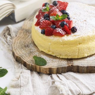 Tarta de queso japonesa (cotton japanese cheesecake)