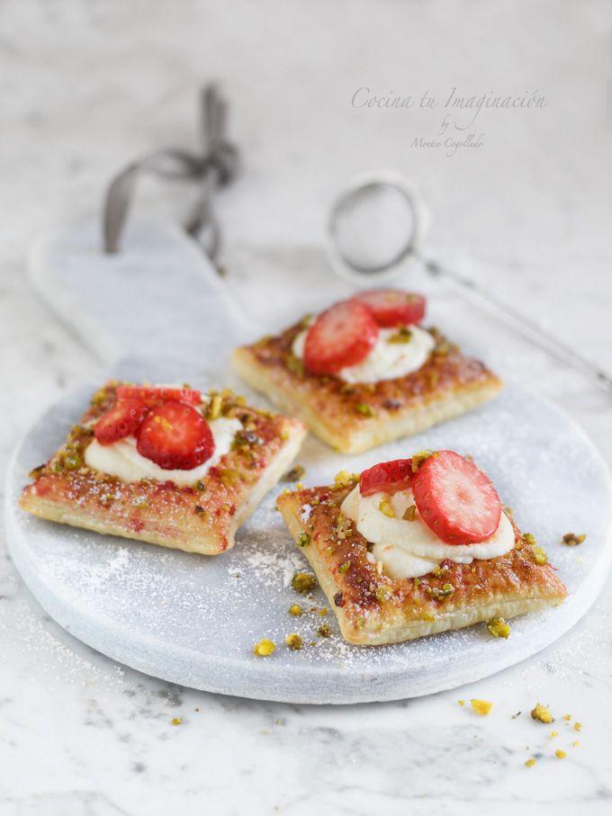 Sin duda el hojaldre es una de las masas más utilizadas en la cocina y hoy  os voy a enseñar a preparar estas tartaletas con crema de mascarpone eec9693ac61