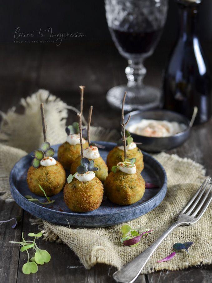 croquetas de hummus