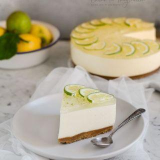 Tarta de queso de gin tonic, fácil y sin horno