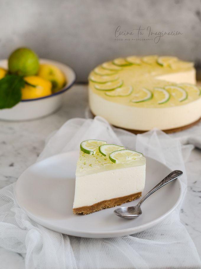 tarta de queso de gin tonic