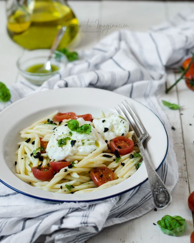 pasta con tomates cherry